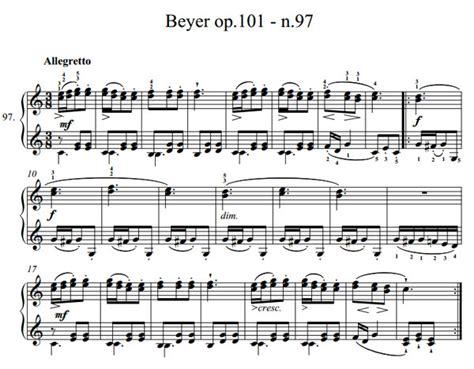 Buku Piano Beyer Op 101 esercizio n 97 beyer op 101 lezione n 72 pianosolo il