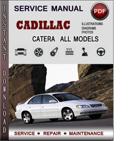 cadillac catera service repair manual download info service manuals