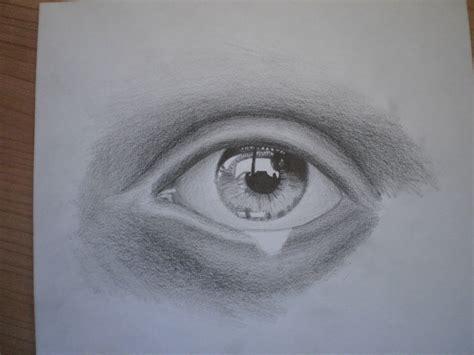 dibujo de ojo con lagrima realizado con lapices de grafito ojos y lagrimas dibujos a l 225 piz imagui