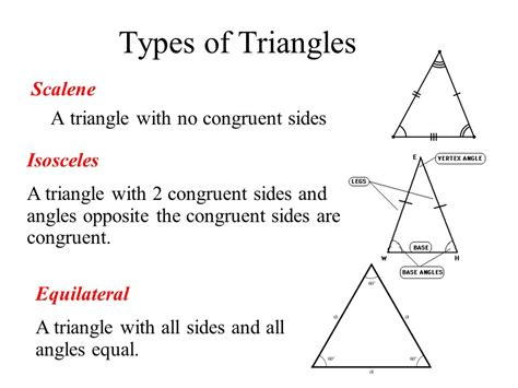 how do you indicate congruent angles in a diagram types of triangles scalene a triangle with no congruent