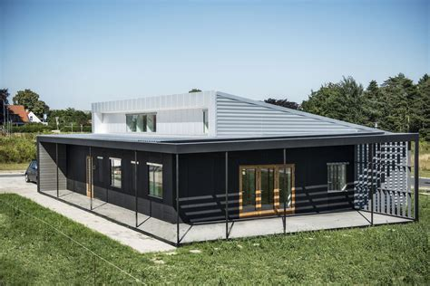 Economical Homes To Build by Upcycle House Two Prefabricated Shipping Containers