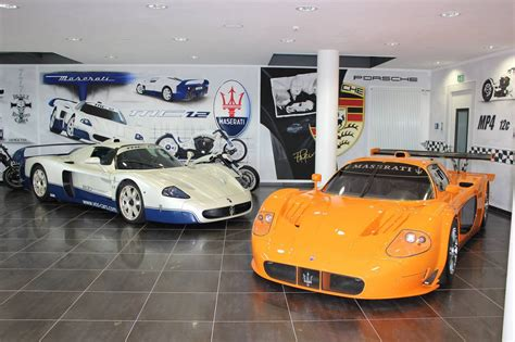 maserati mc12 orange ultra rare maserati mc12 corsa mc12 together at vos cars