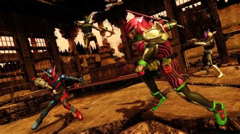 Ps4 Kamen Rider Climax Fighters With Mousepad Region 3 Asia kamen rider climax fighters localization confirmed