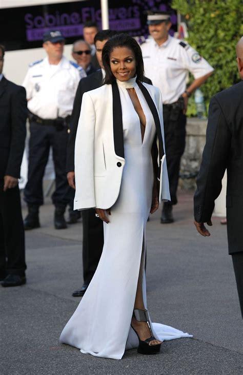 Dress Jenet janet jackson photos photos arrivals at the 2012 amfar
