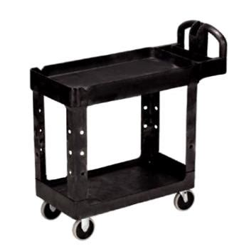 Rubbermaid Fg409300owht Kitchen Utility Cart Rubbermaid 4500 88 39 In X 17 7 8 In Black Utility