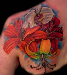 Tattooed Flower Vase Flower Tattoos And Their Meaning Richmond Tattoo Shops