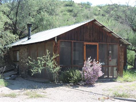 a river rock cabin in cascabel 1 br vacation cabin for
