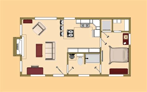 480 square foot apartment 16x30 floor plans studio design gallery best design