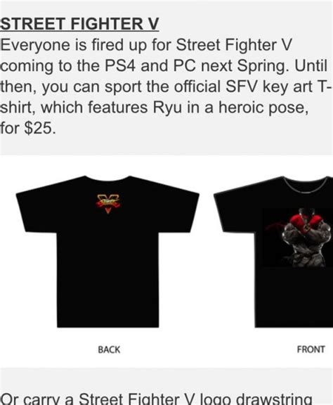 Fighter V Playstation 4 Ps4 Kaos Shirt fighter v pc ps4 release date set for 2016 report