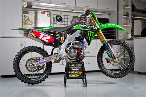 pro motocross bikes dimension garage kawasaki monster energy