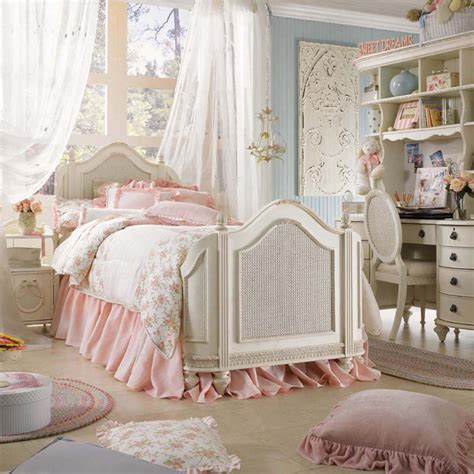 girls white bed 17 awesome rustic romantic girls room ideas decoholic