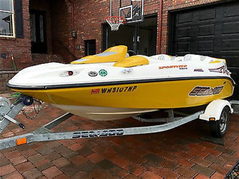 sea doo sportster le jet boat 4 seater jet boats boats for sale