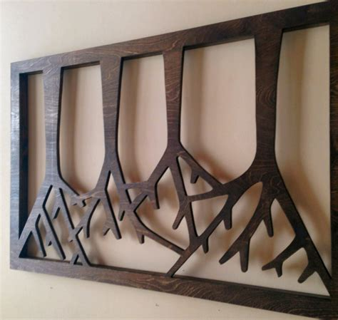 12 Wood Wall Art Designs Wall Designs Design Trends Wooden Wall Decoration
