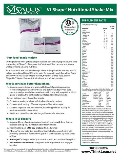 a f protein canada inc vi shakes nutritional info nutrition ftempo