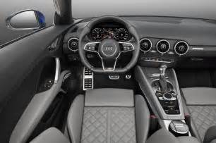 2016 Audi Tt Interior 2016 Audi Tt Roadster Front Interior Photo 11