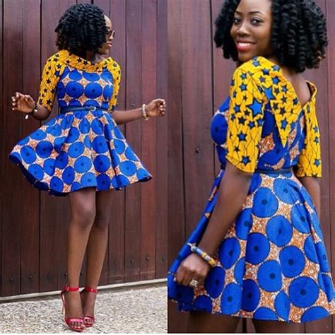 short gown image for daviva ultimate and trendy ankara styles that will wow you
