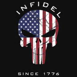 American punisher infidel quot t shirts amp hoodies by zingarostudios