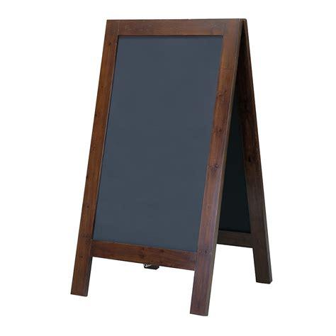 kreidetafel farbe deko kreidetafel aus holz 135 cm hoch dunkelbraun