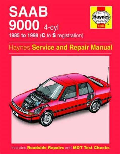saab 9000 4 cylinder 1985 1998 haynes service repair manual uk sagin workshop car manuals