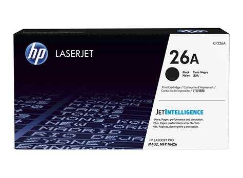 Toner Hp Laserjet Cf226a Black Original hp 26a black original laserjet toner cartridge hp store canada