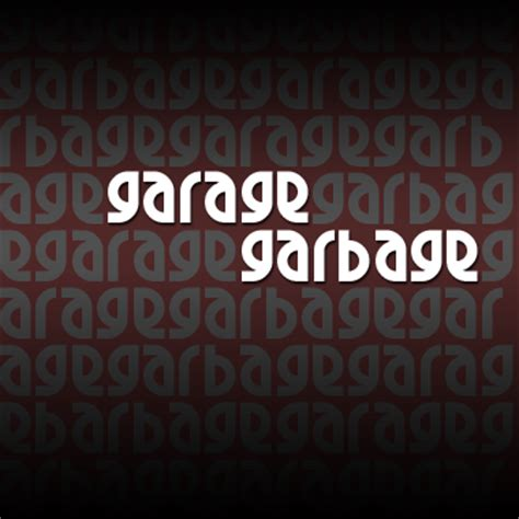 Garage Font by Garage Garbage Font Garage Garbage Typeface Free Fonts