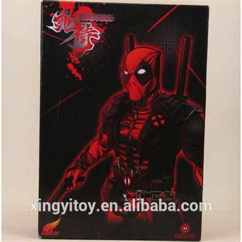 Istimewa Dompet Marvel Deadpool Model 3 Import original version marvel deadpool 10 quot gold type a figure buy deadpool