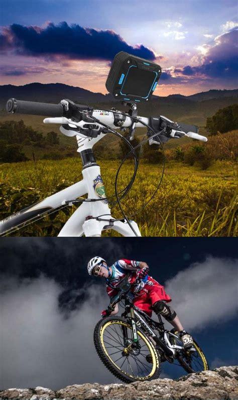 motorsiklet bisiklet montaj su gecirmez bluetooth