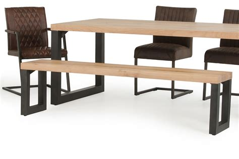 oak dining benches modrest reese modern aged oak dining bench dining