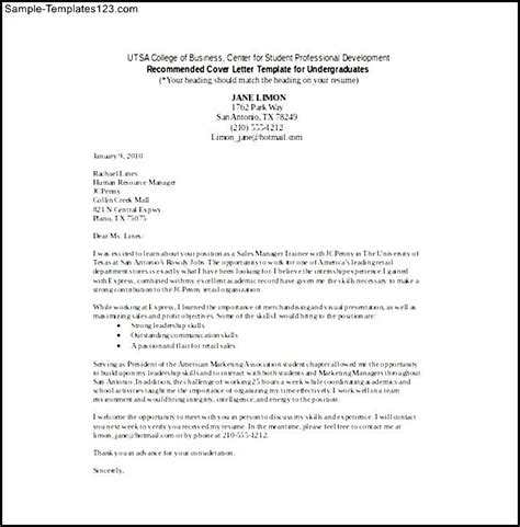 template cover letter for retail retail sales cover letter word template free download