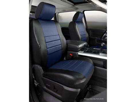seat covers for seats with airbags fia leatherlite custom seat cover blue black front