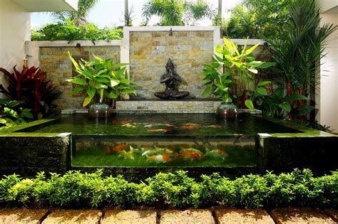 Backyard Coy Ponds by Koi Fish Pond Garden Design Ideas 2017