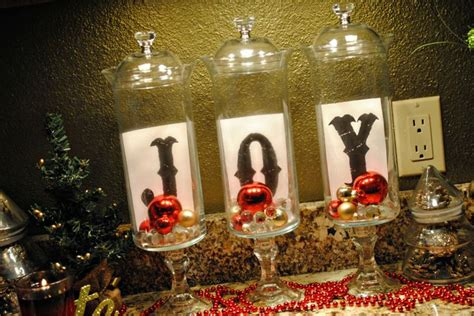 5 apothecary jars christmas pinterest