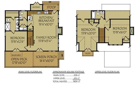 floor plans for cottages small bungalow cottage house plan with porches and photos