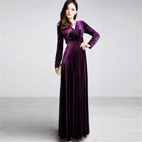 Longdress Velvet graceful multi colored velvet maxi costumes for designers collection