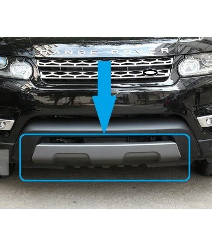 range rover sport l494 front tow eye cover grey