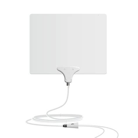mohu leaf  amplified indoor hdtv antenna ebay