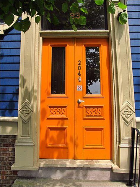 blue house orange door 25 best ideas about orange brick houses on pinterest