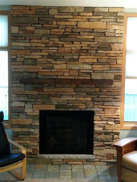 Woodbury, MN Mendota FV41 Fireplace w/ Southern Ledgestone