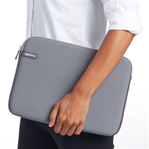 Amazonbasics Sleeve by Amazonbasics 13 3 Inch Laptop Sleeve Grey Import It All
