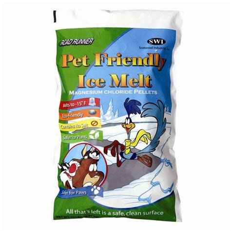 does home depot allow dogs road runner 20 lb pet friendly melt bag 20b rr mag the home depot