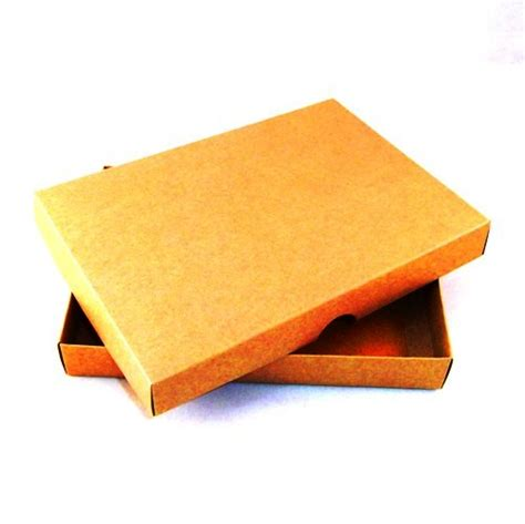 Boxes For Handmade Cards - a6 brown kraft greeting card boxes for handmade cards