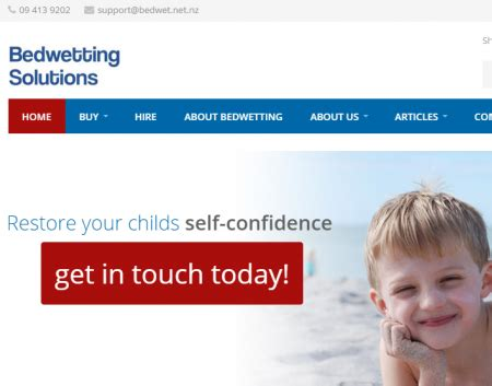 bed wetting solutions portfolio marketing results