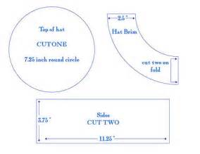 How To Make A Paper Pattern For Sewing - 8 best sailor hats images on sailor hats