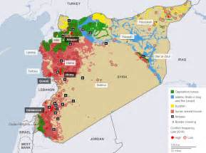 Map Of Syria And Iraq by Islamic State In Maps