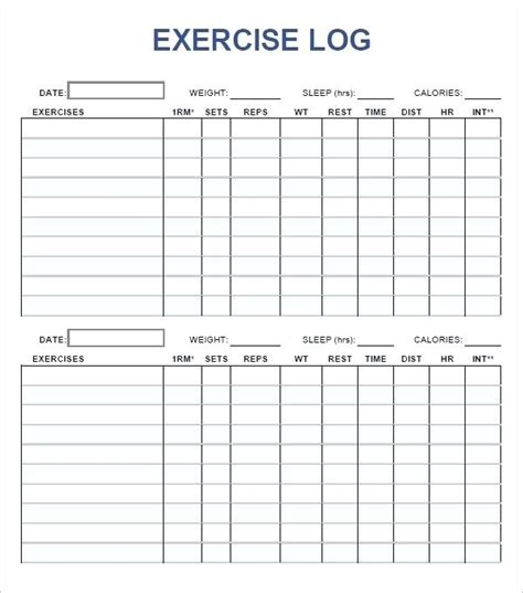 Workout Schedule Template Excel Workout Plan Schedule Template Exercise Training Plan Template Workout Tracker Template Excel