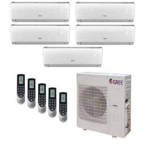 ductless mini splits air conditioners the home depot