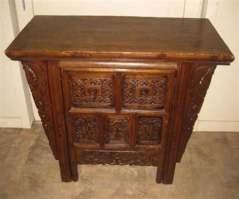 Altar Table by Carved Altar Table Elmwood Desk From