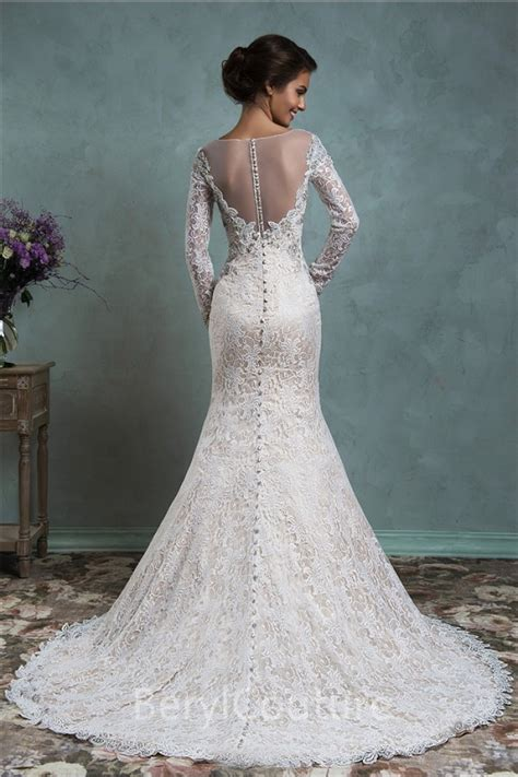 Vintage Wedding Dress Our One by Vintage Lace Wedding Dress Lace Sleeve Bridalblissonline