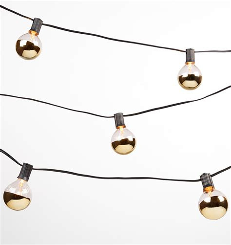 20 light string 20 gold bulb string lights rejuvenation