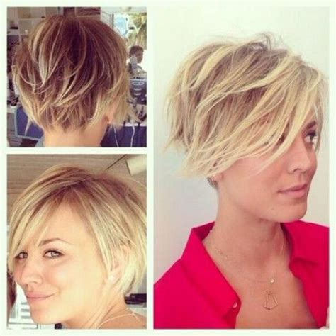 short haircut planner 15 shaggy pixie cuts kaley cuoco short hair and hair